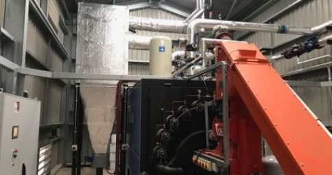 Linka 1500kW Boiler. Commissioned Jan 2018