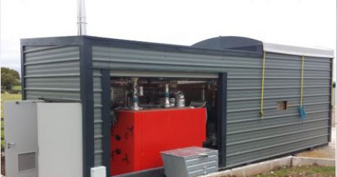 Heating Poultry Units in Derbyshire. Commissioned 2014