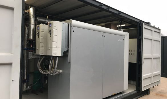575kW GSHP- Poultry (Shrewsbury).  Commissioned Dec 2019