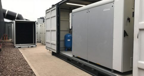 575kW GSHP- Poultry (Shropshire).  Commissioned Sept 2018